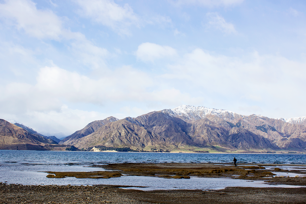 Somewhere on the South Island of New Zealand