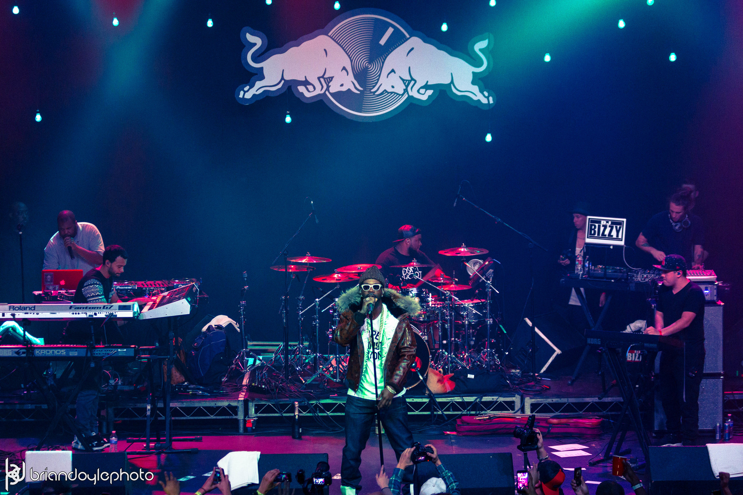 Lil Wayne, Juicy J, Two-9, Tree @ The Fonda 25.11.2014-33.jpg