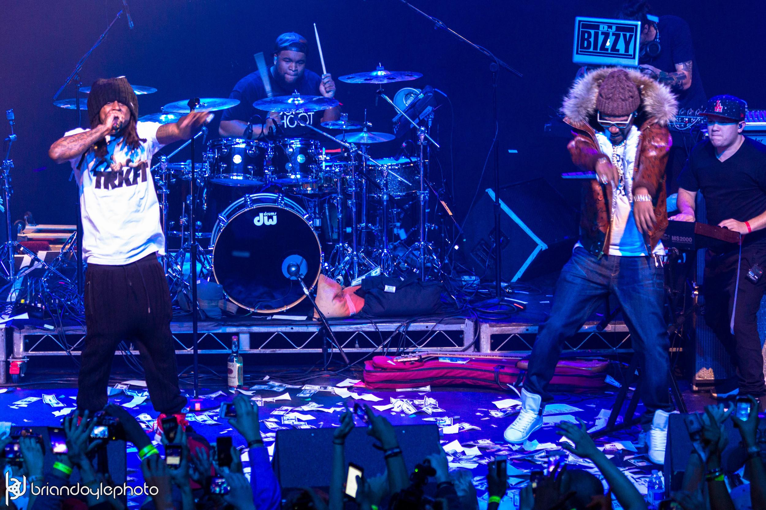 Lil Wayne, Juicy J, Two-9, Tree @ The Fonda 25.11.2014-36.jpg