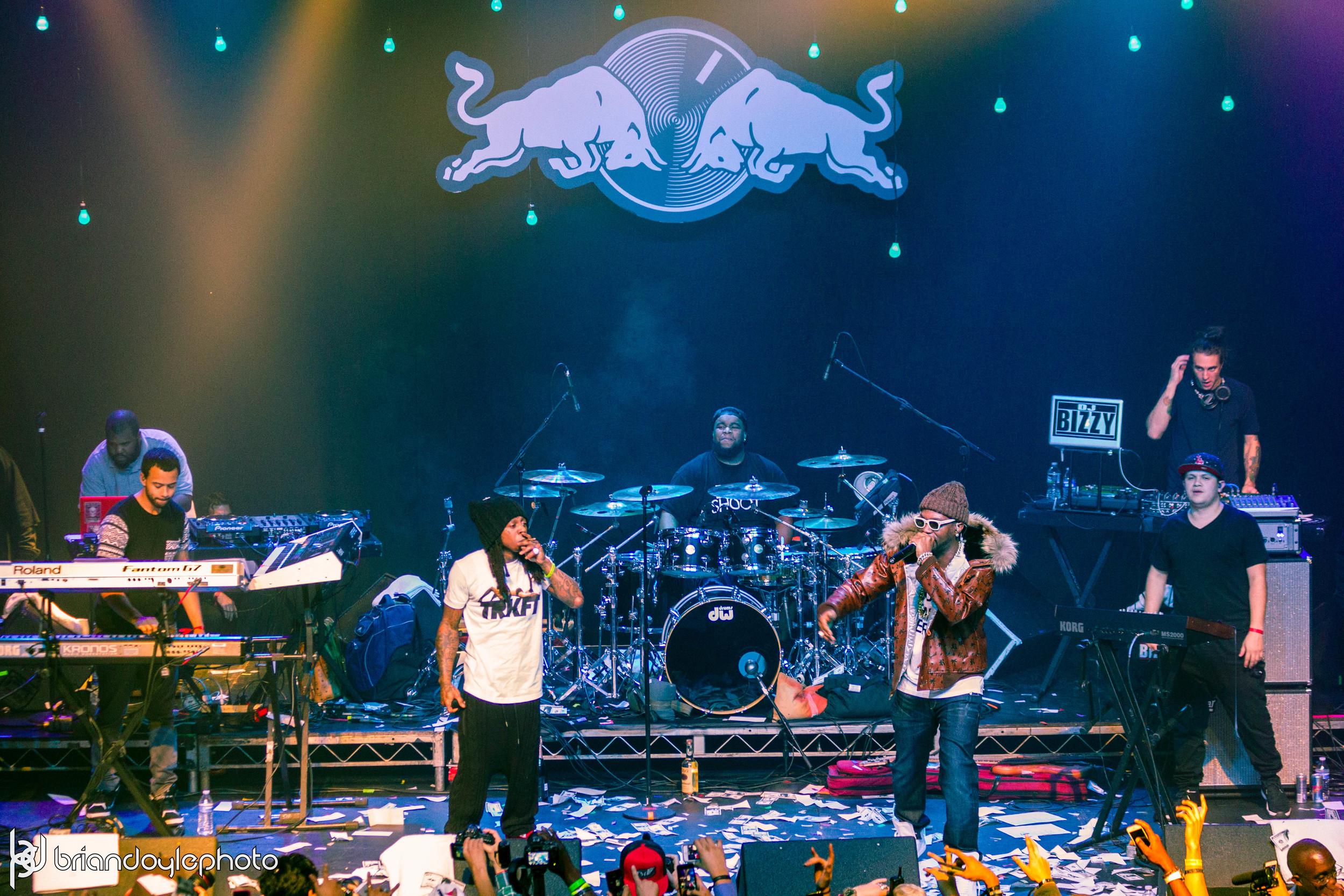 Lil Wayne, Juicy J, Two-9, Tree @ The Fonda 25.11.2014-37.jpg