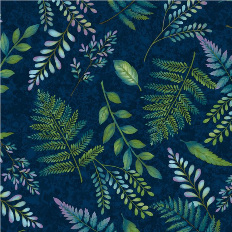 Fern & Flora in Midnight