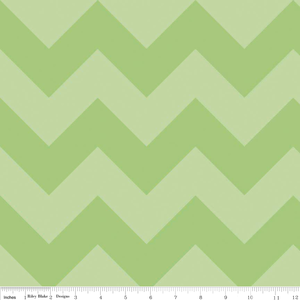 Large Green Chevron