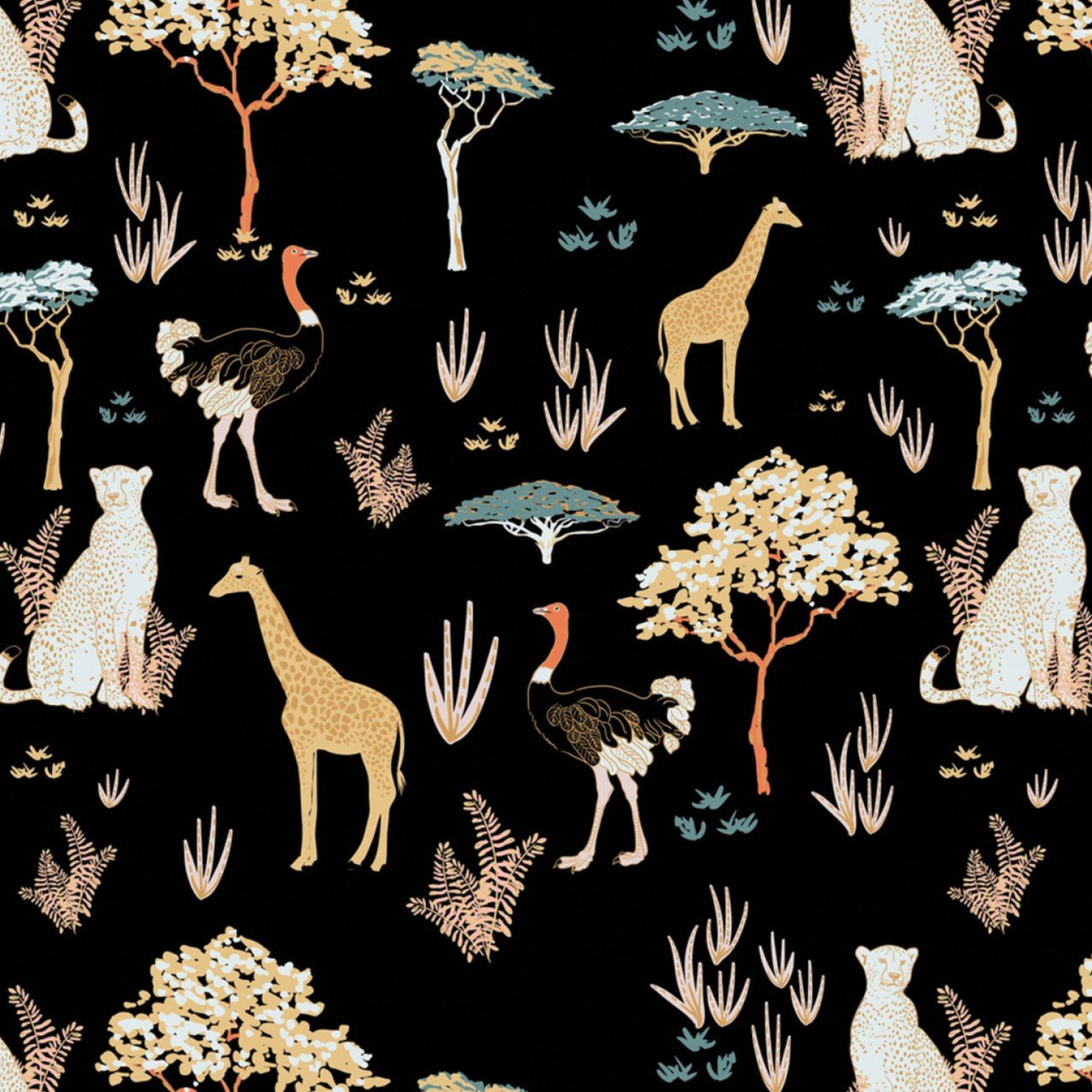 Safari Dreams in Black
