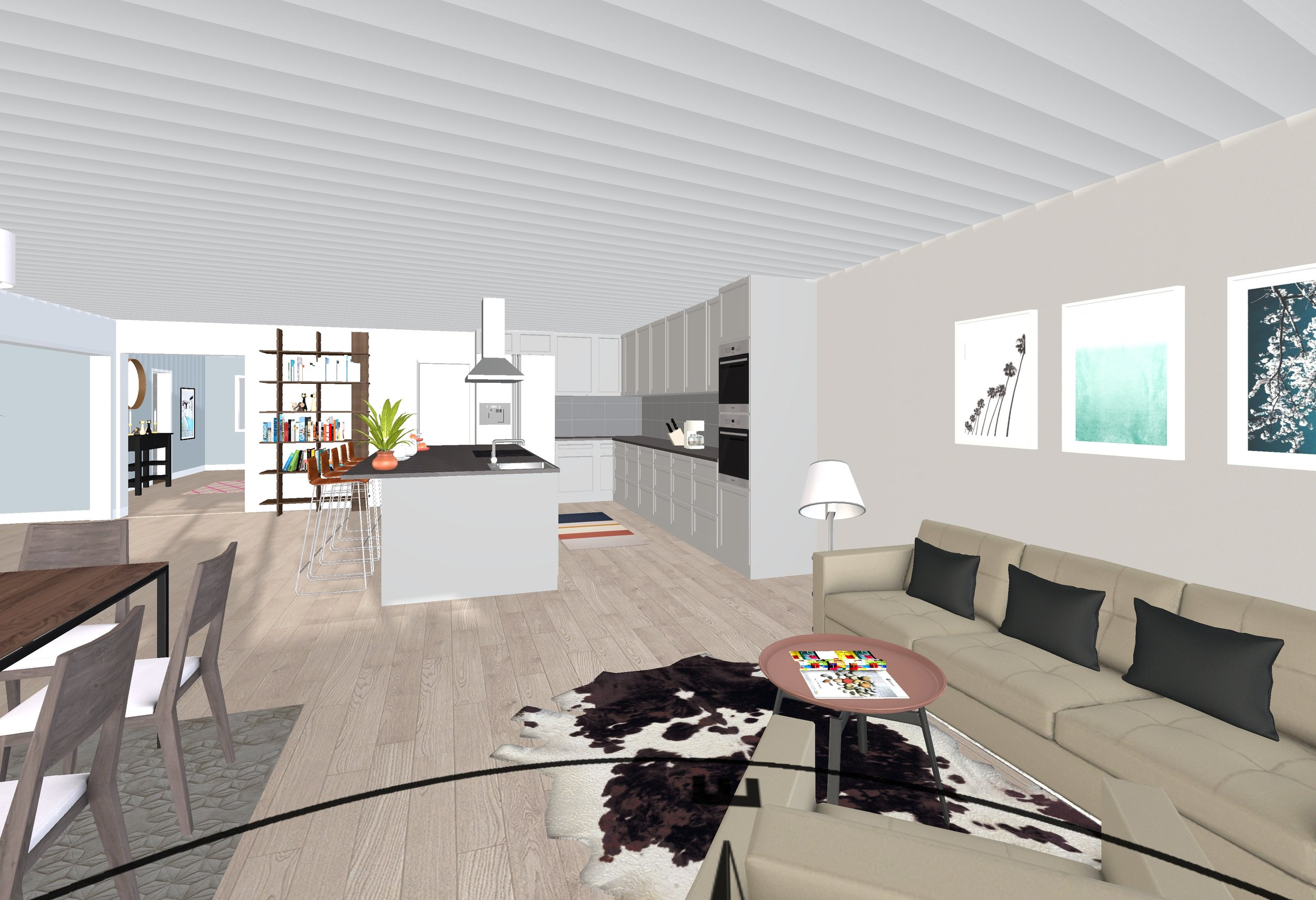 Living Area at Rear