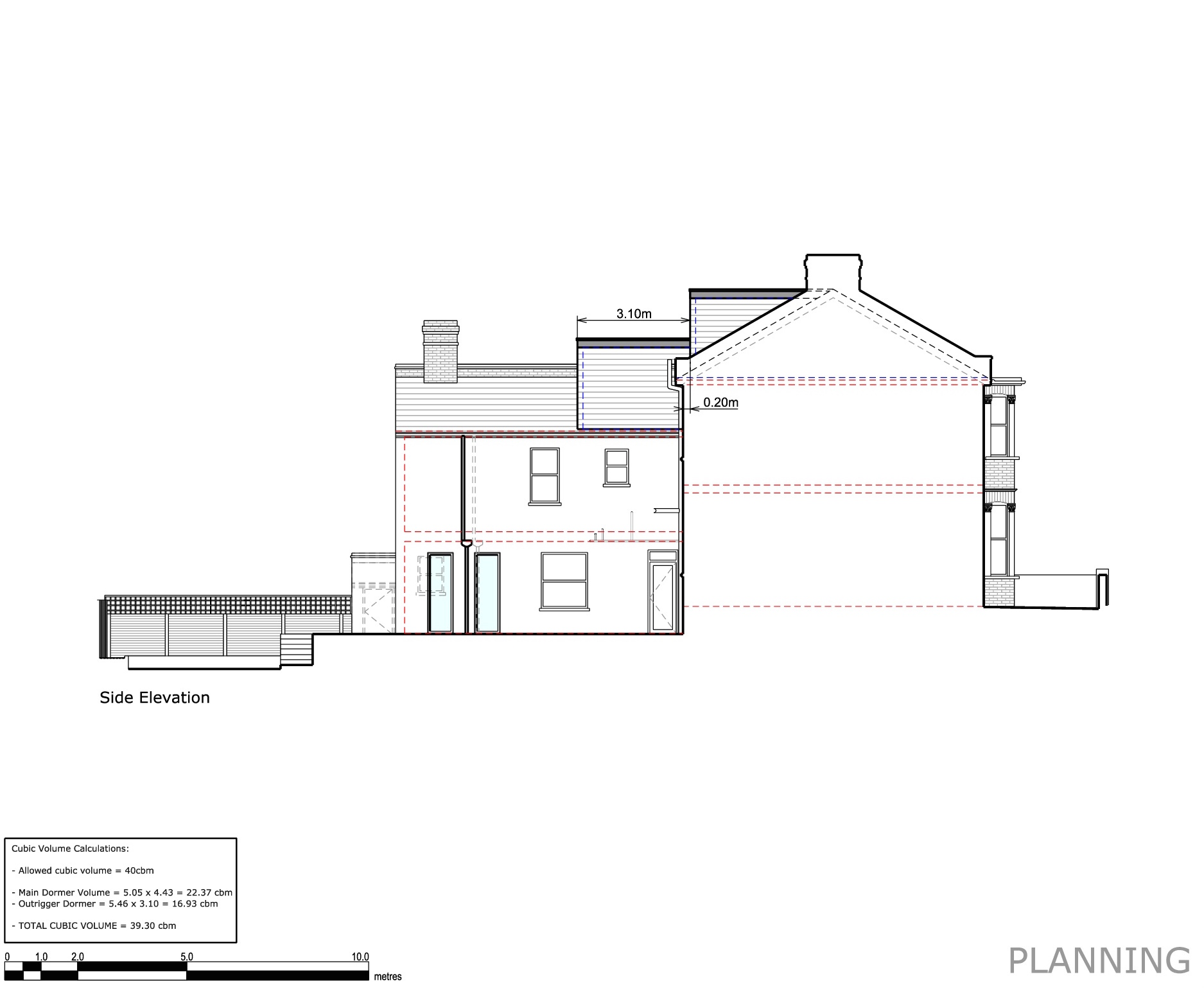 Proposed Elevations Side