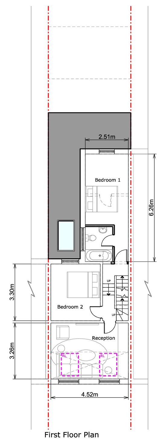 First Floor - Proposed