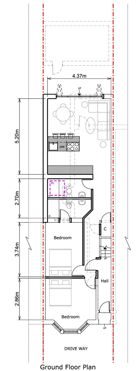 Ground Floor - Proposed