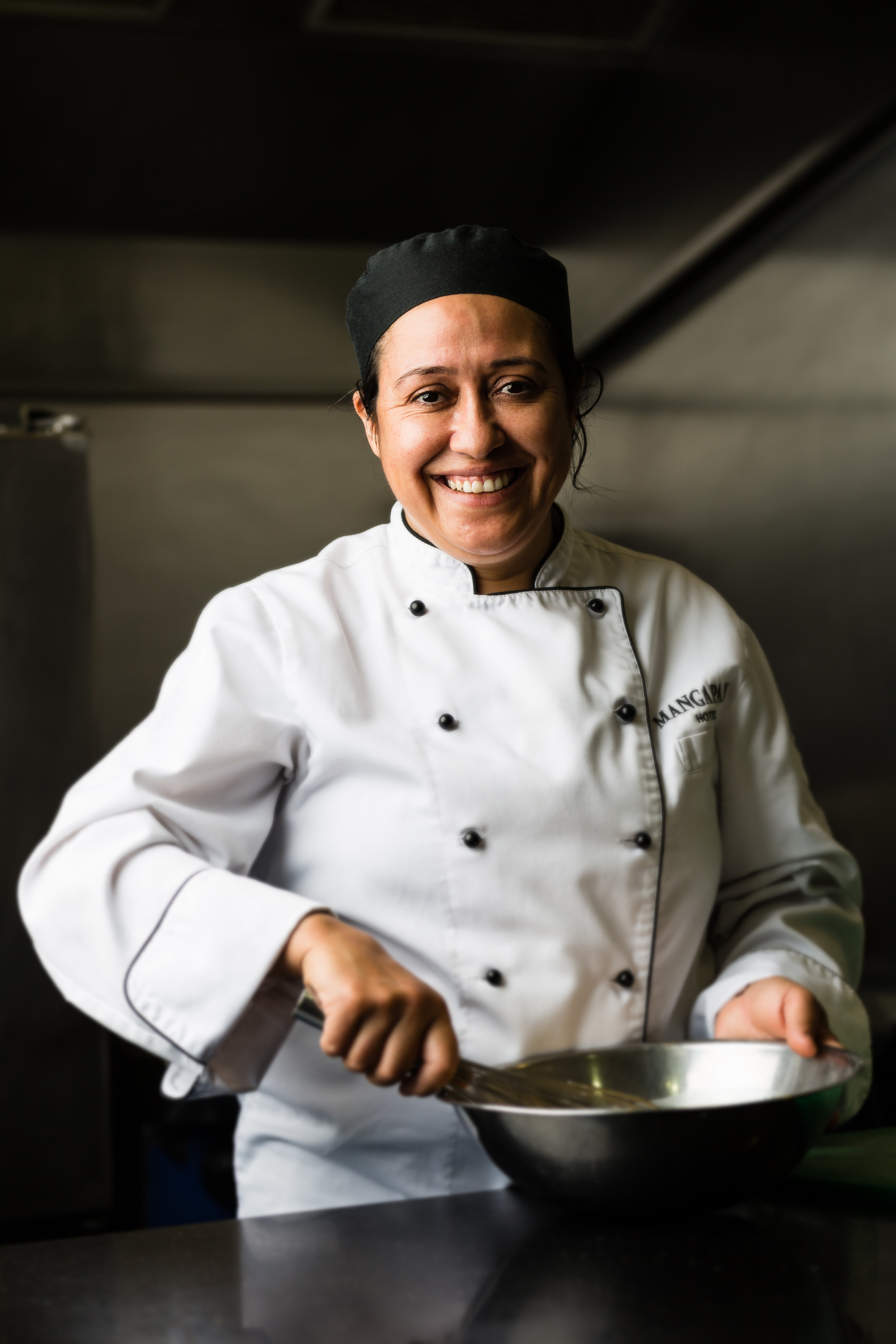 Head Chef, Norka Mella Munoz