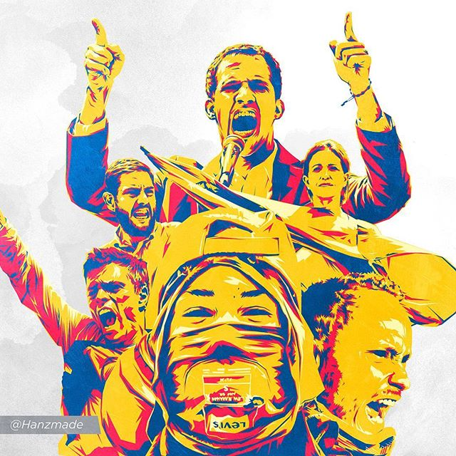 Por la juventud, la vida, la libertad y la esperanza! 🇻🇪✊🏻 For youth, life, freedom and hope! . . . . #venezuela #prohividoolvidar  #juanguaido #neomarlander #oscarperez #leopoldolopez #mariacorinamachado #juanrequesens #ilustracion #illustrator #freedom #democracy #cnn #lapatilla #maduradas #news #hope #newyorktimes #time #bbc #adobeillustrator #behance #caraotadigital #theguardian #wallstreetjournal #thewashingtonpost #sydneymorningherald #elpais #libertad #lavanguardia @el_pais @elnacionalweb @elmundo_es @cnnee @maduradas @guardian @wsj @nytimes @washingtonpost @cnn @cnnpolitics @abcnews @mariacorinamachado @leopoldolopezoficial @juanrequesens @jguaido @liliantintori @voluntadpopular @fabiirosales @nbcnews