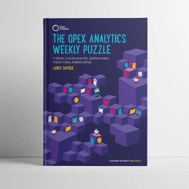 A lovely project I did last December for a wonderful client! 👍🏻😁 #opexanalytics #book #digitalillustration #riddles #purple