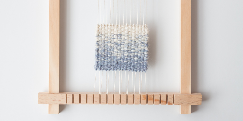 Loom & Spindle - Weaving Two-Colour Gradients - 7
