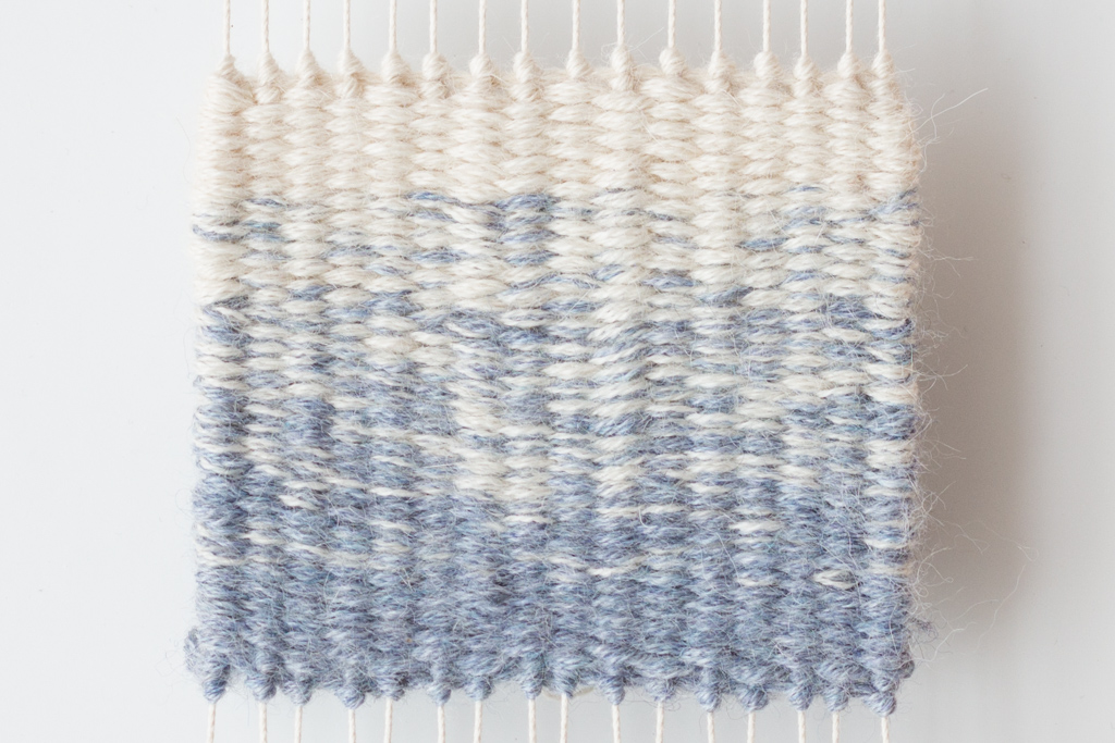 Loom & Spindle - Weaving Two-Colour Gradients - 9