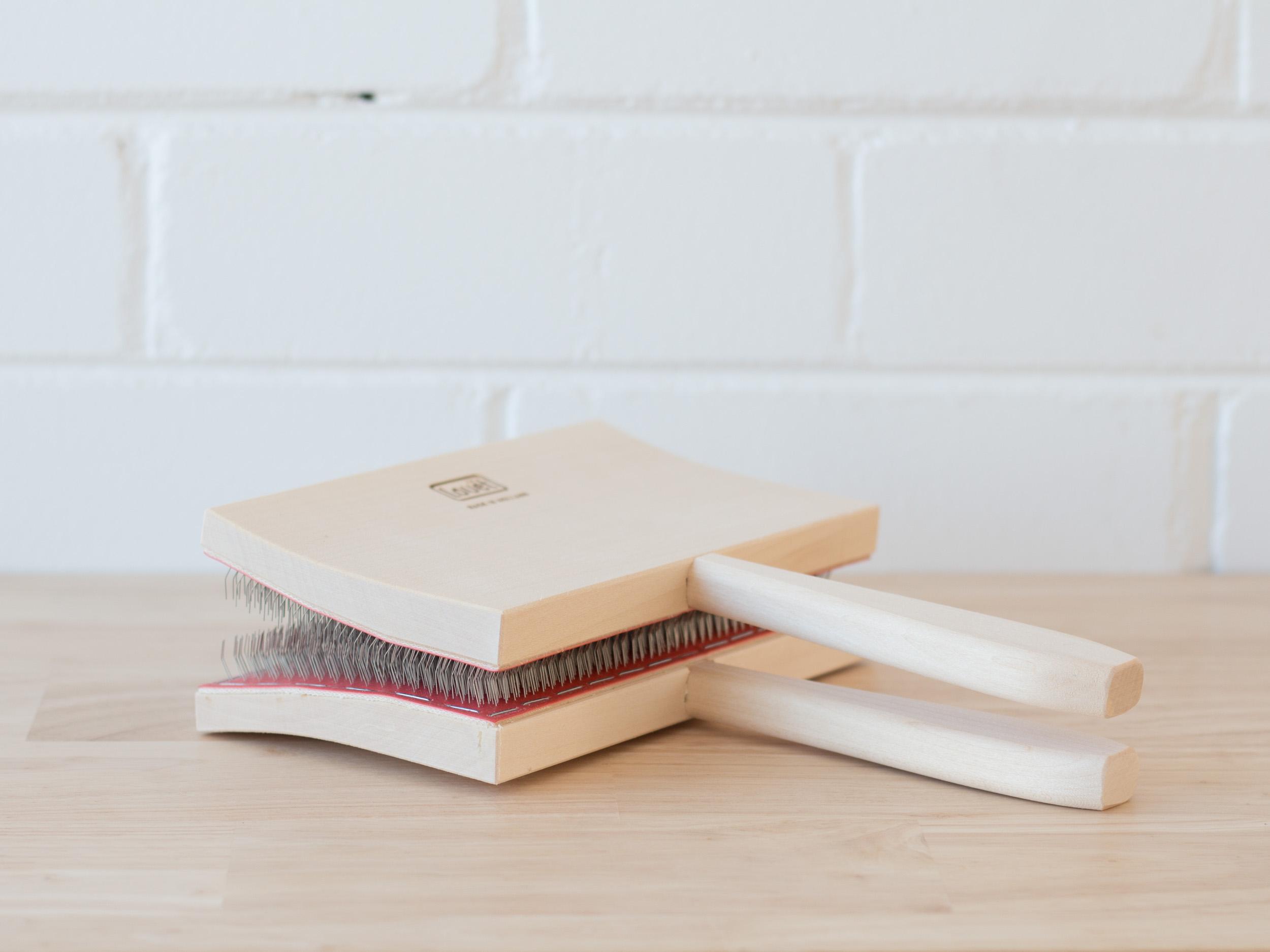 Loom & Spindle - Louet Hand Cards-1.jpg