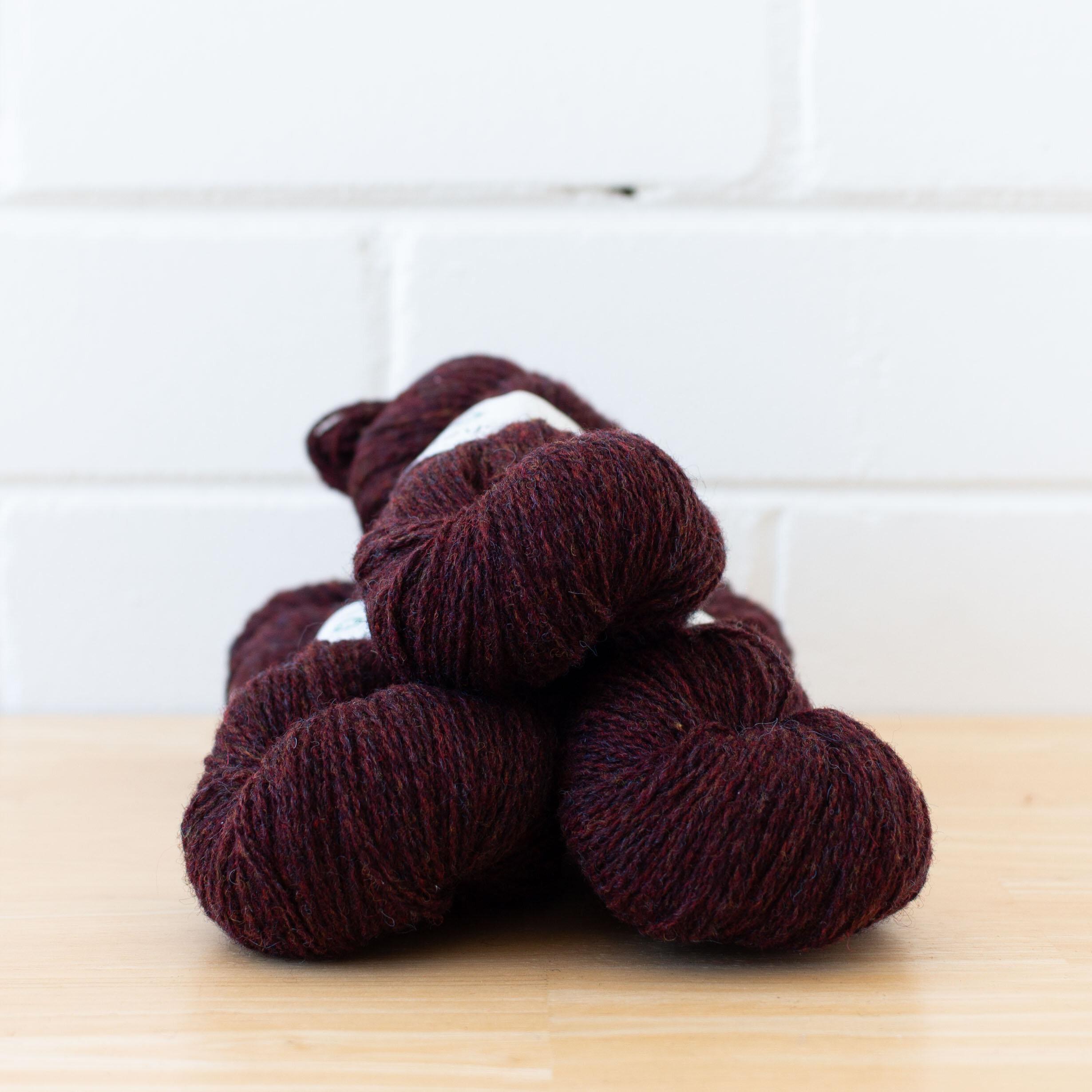 Copper Black Brown Fiber Stitch Marker Size 10 Needles Tiger Eye Wool Knitting