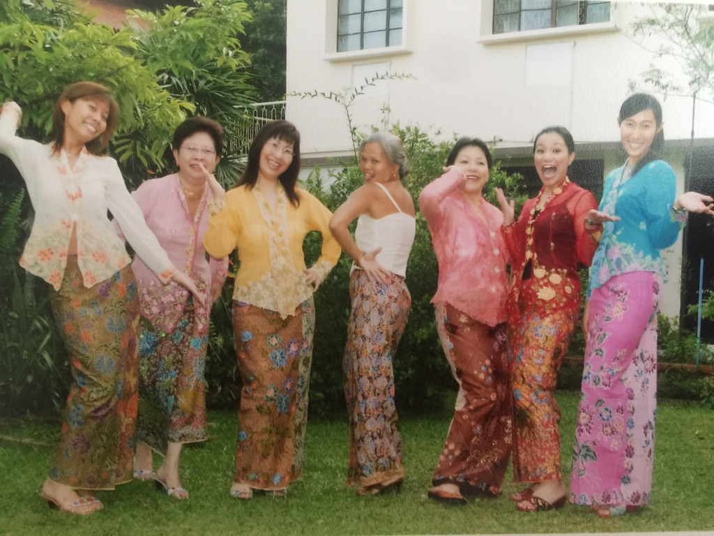 The Original Crazy Rich Asians--Taken at my grand aunt's house in Buket Timah