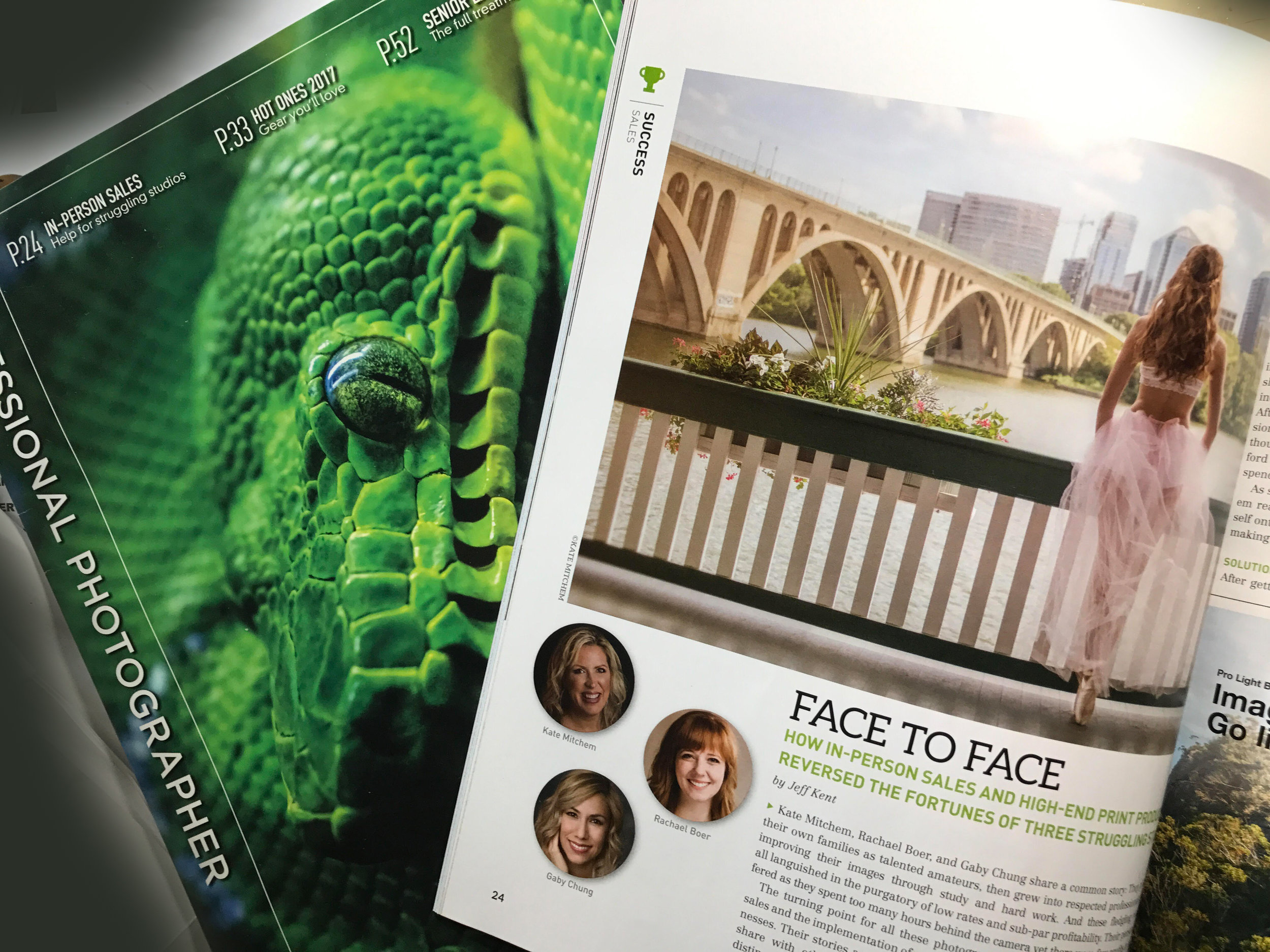 Professional Photographer's Magazine Aug. 2017