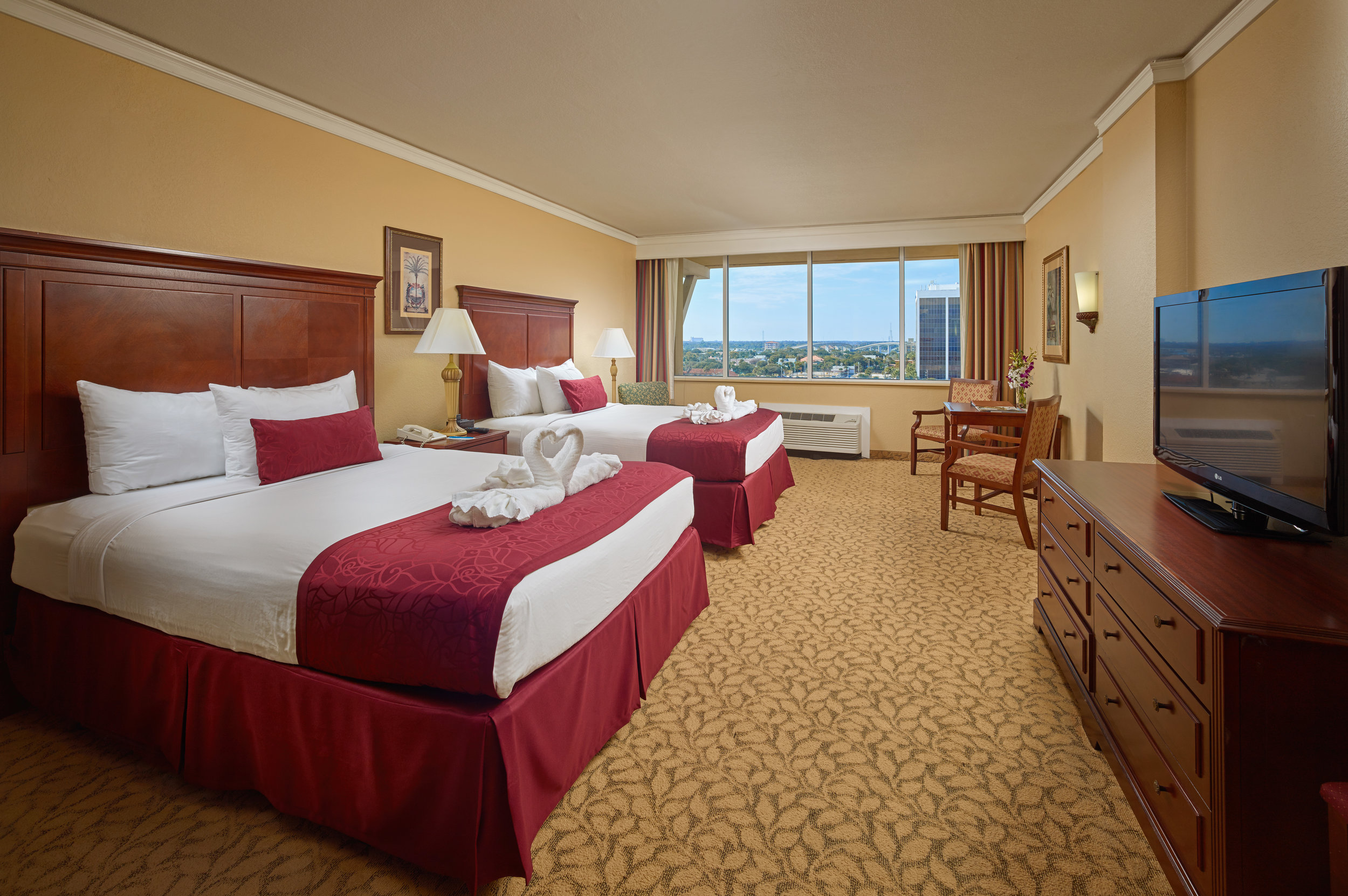 Standard Double Plaza View Room