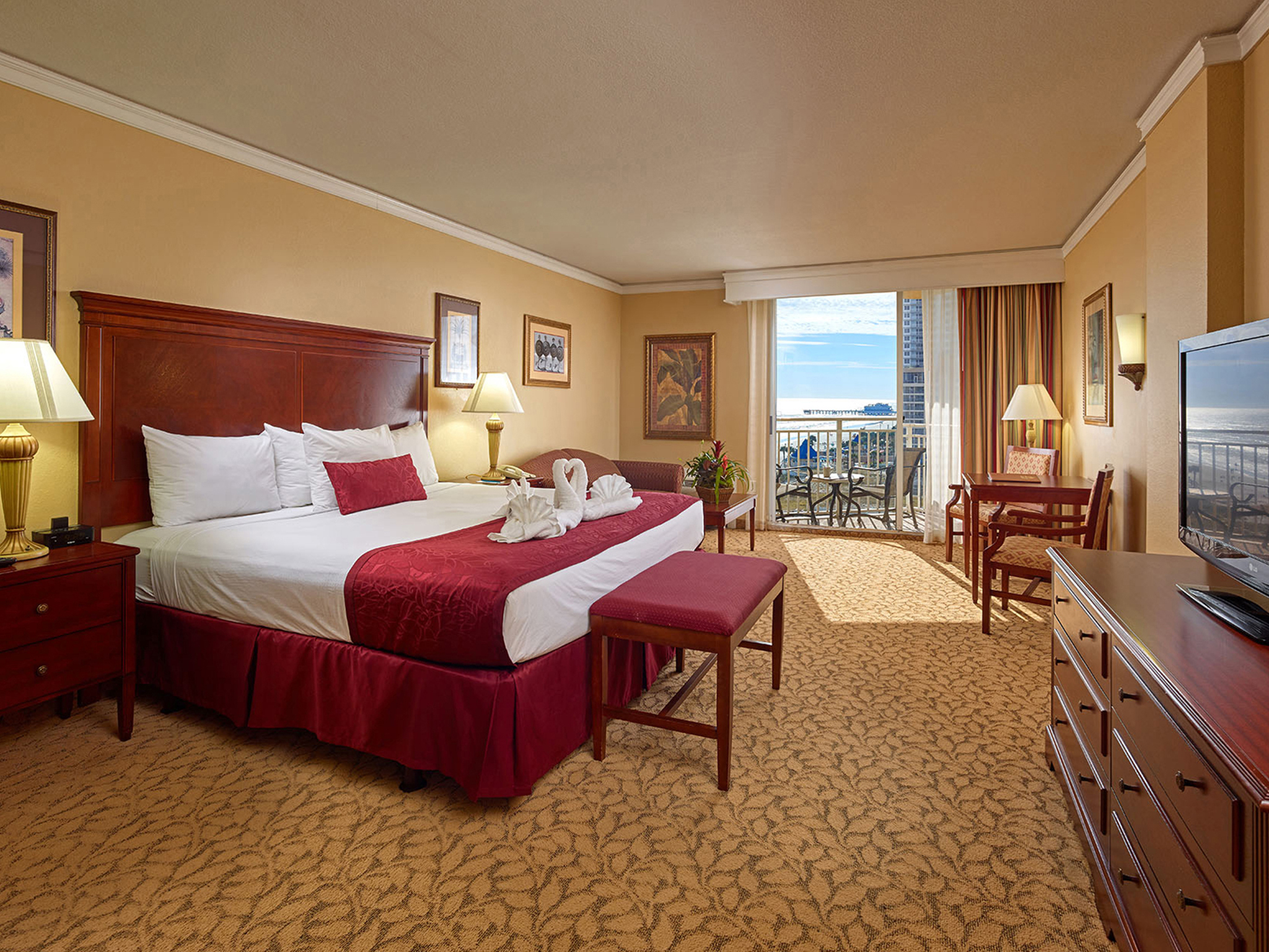 Ocean View King Room with Balcony