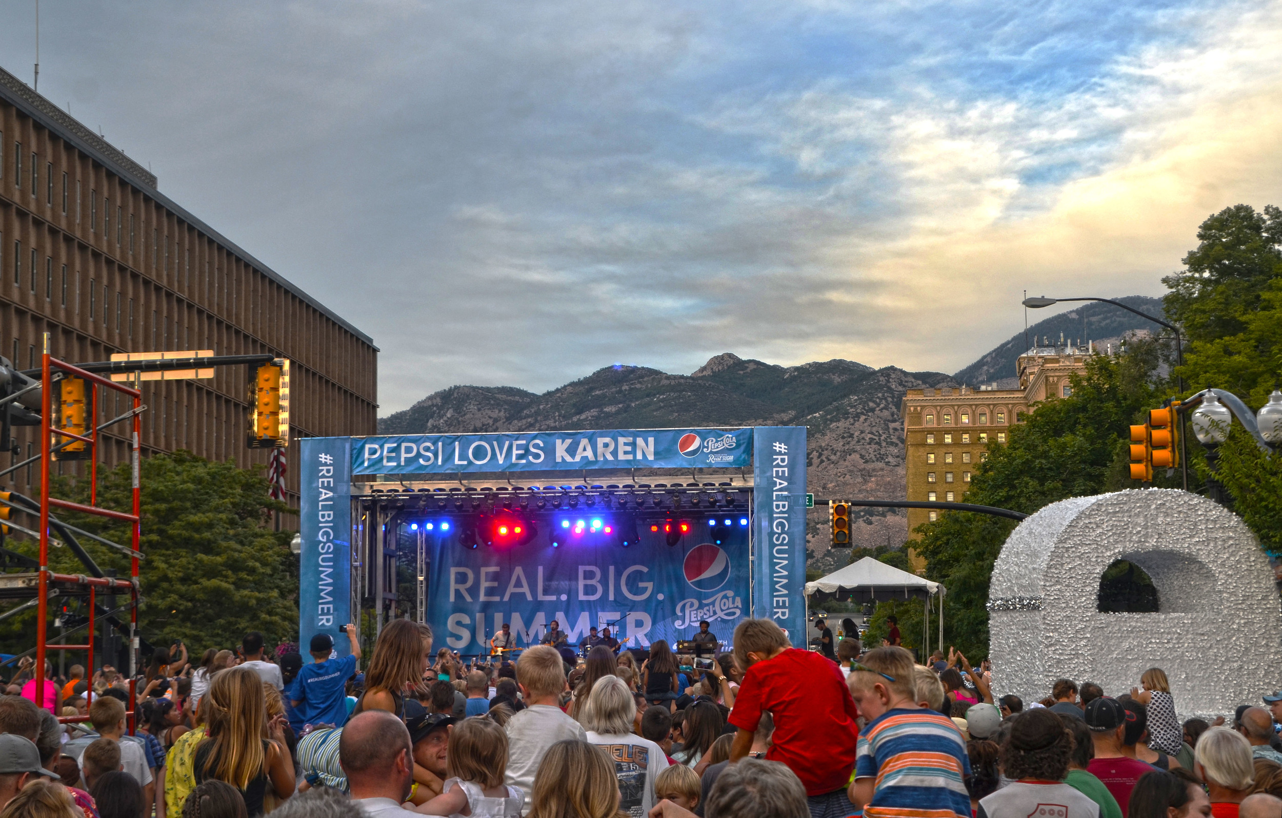 Thank you to Pepsi and their Real. Big. Summer. event for bringing a new kind of adventure to Ogden!