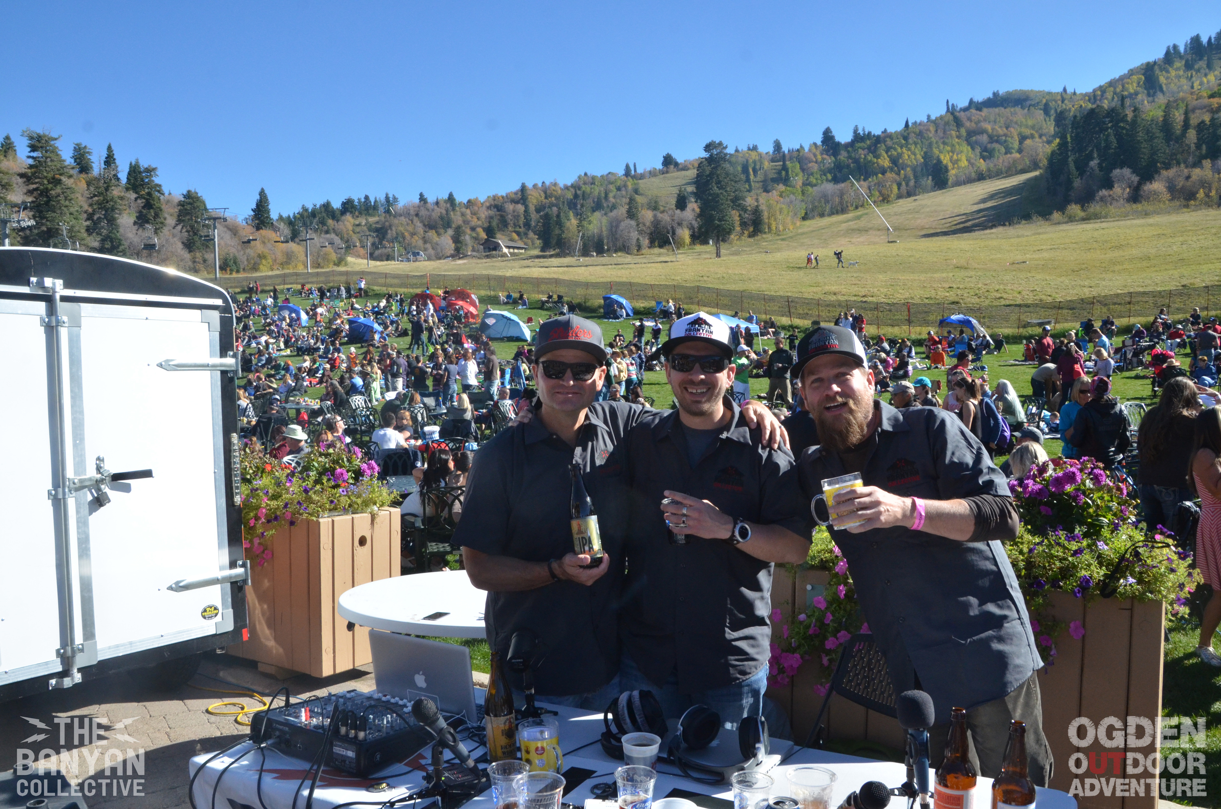 The Banyan Collective: John  Wojciechowski, R. Brandon Long, and Todd to the Top - Snowbasin Beer Fest 2014