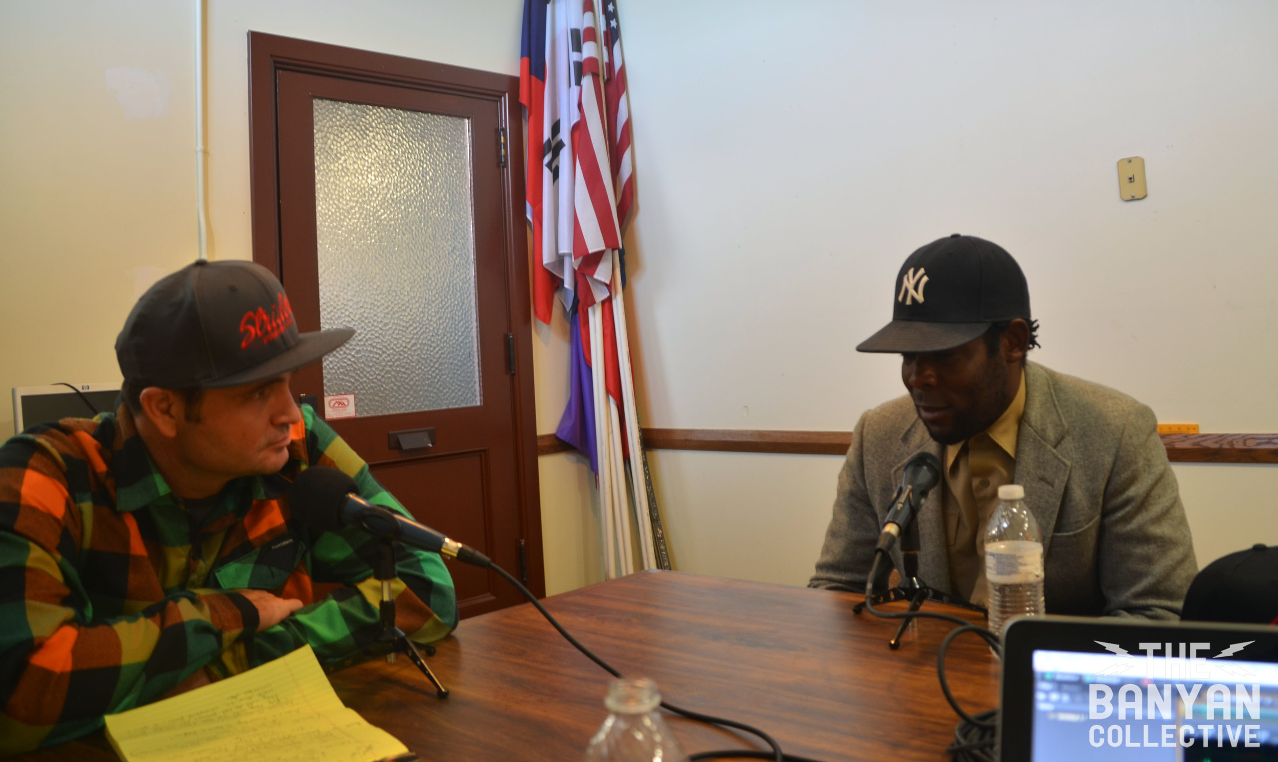 Banyan Host, John Wojciechowski with Amir Jackson on Mr. Goodyear's Neighborhood
