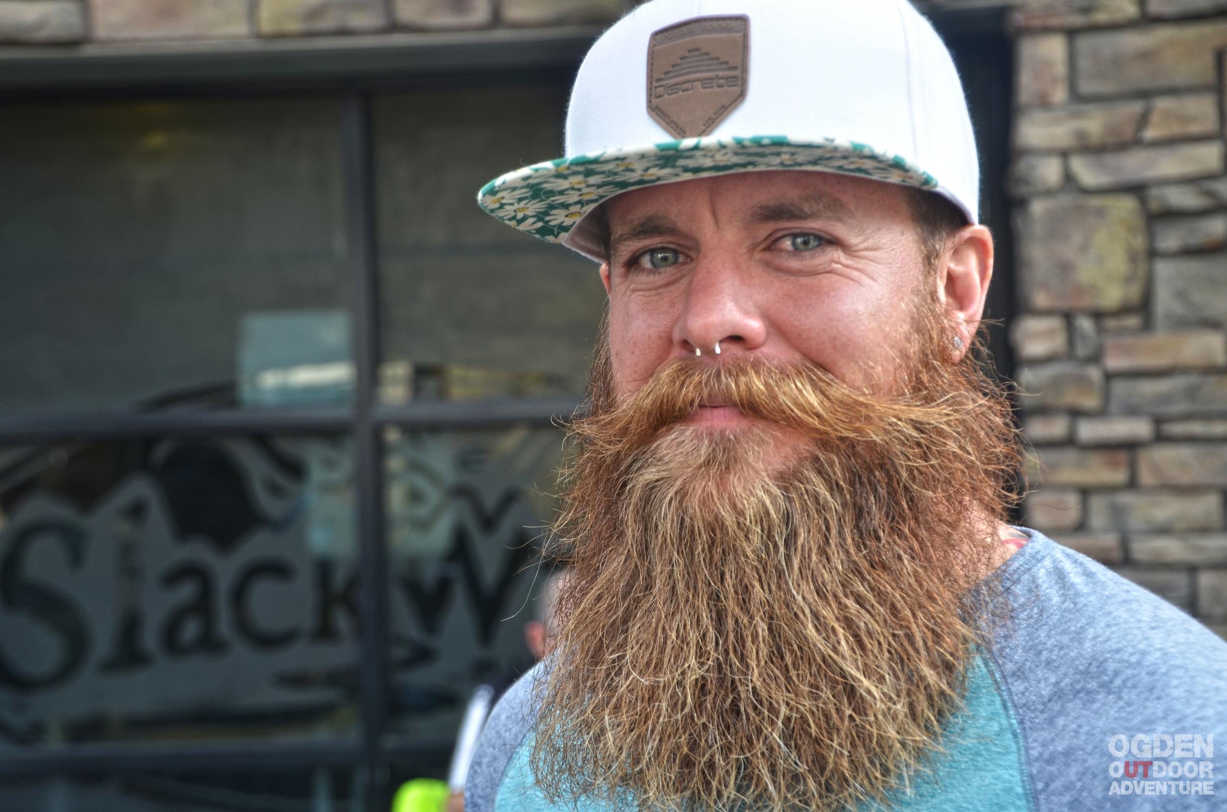 Nic Mahoskey - World Beard and Mustache Champion