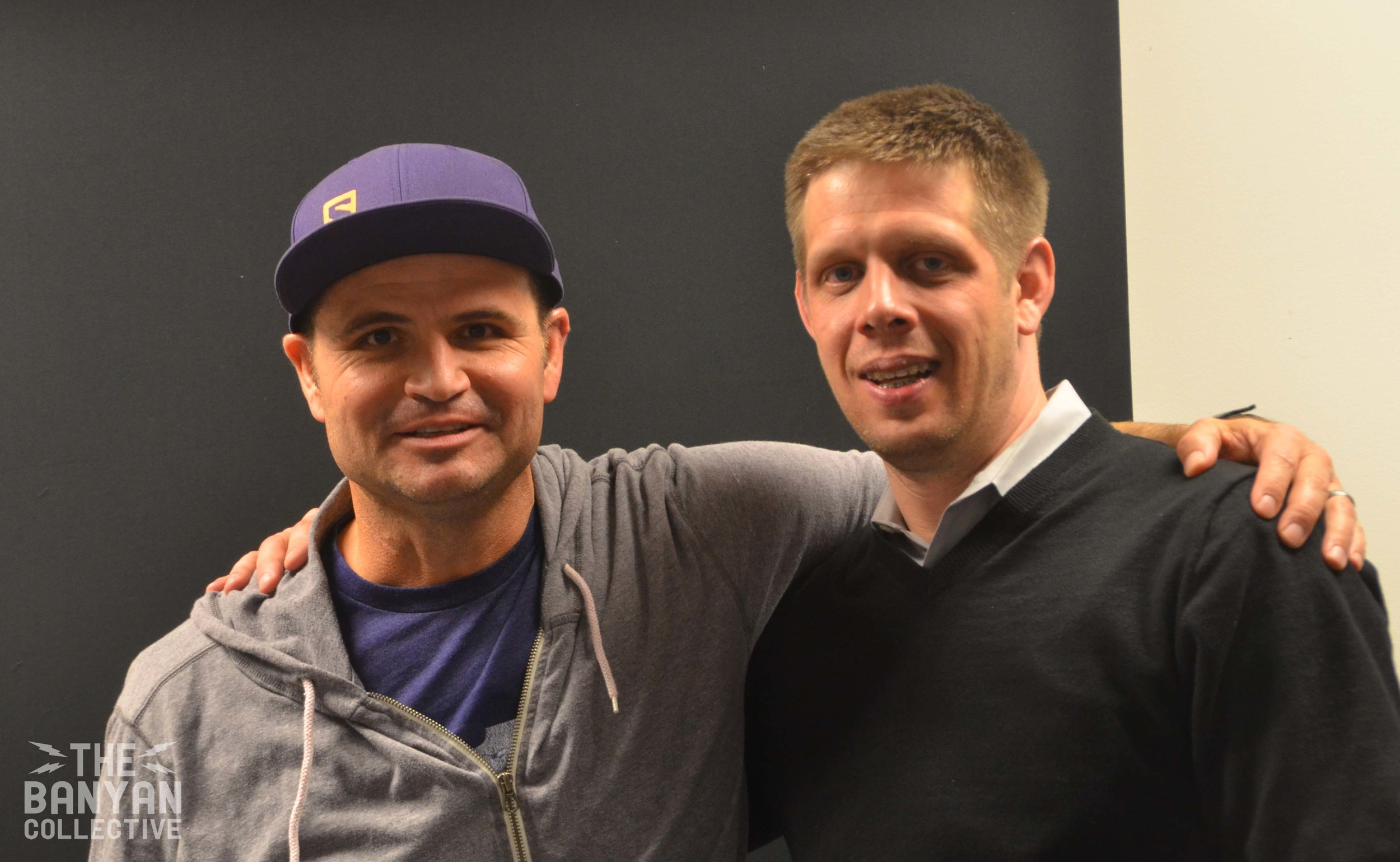 John Wojciechowski withStandard Examiner Publisher, Charles Horton