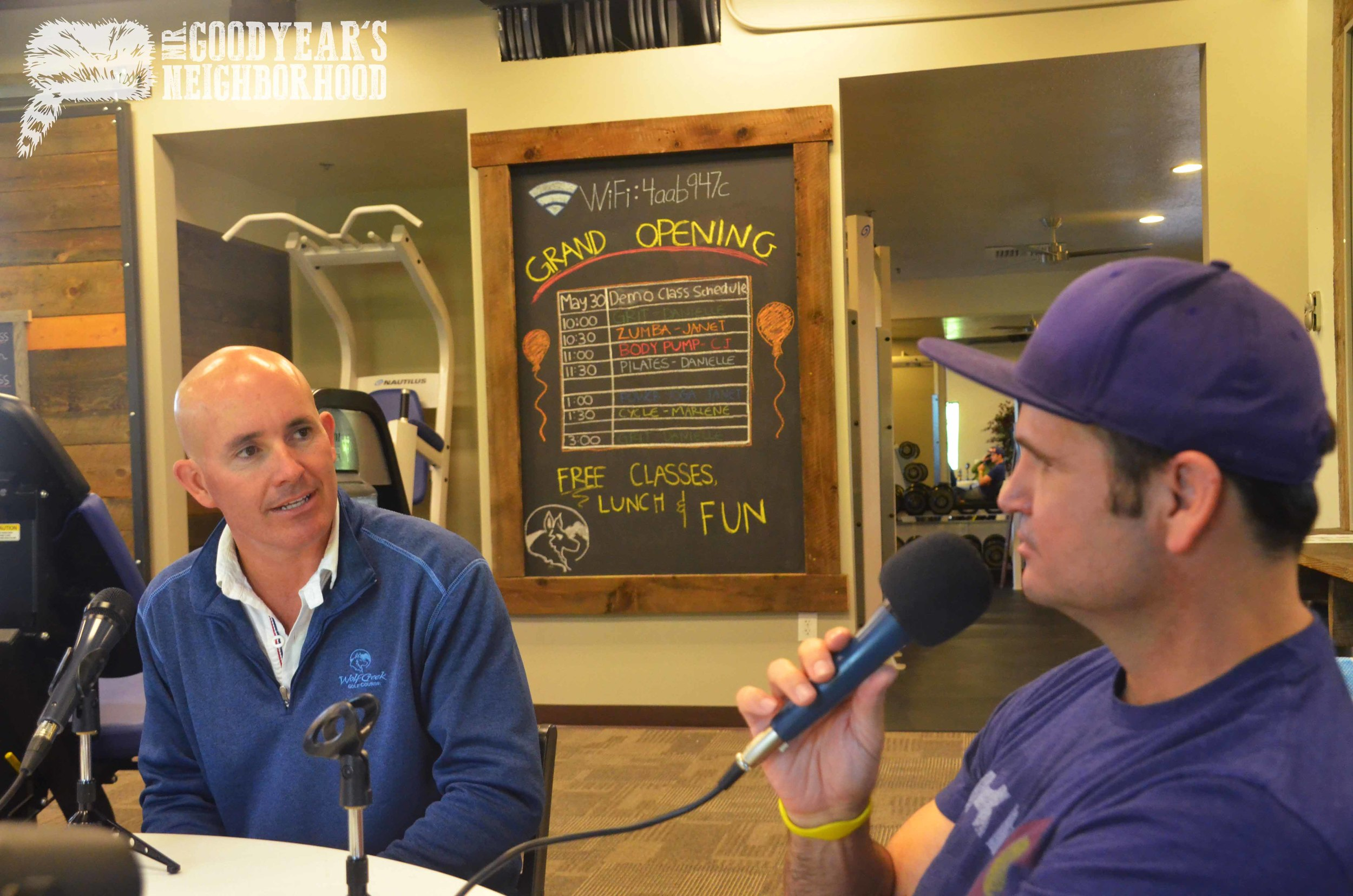 Wolf Creek Owner John Lewis with MGN Host John Wojciechowski