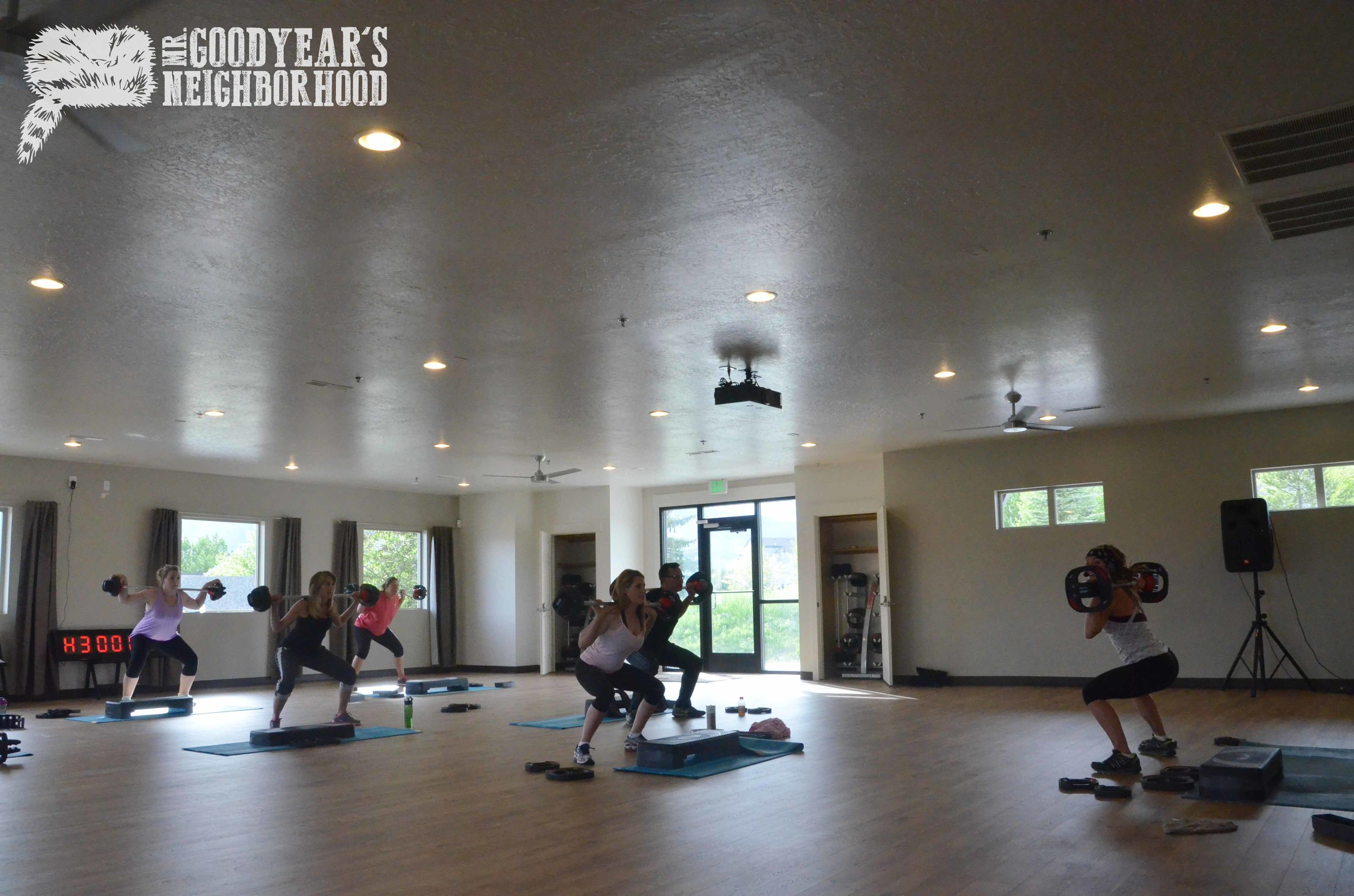 Wolf Creek Group Exercise Room