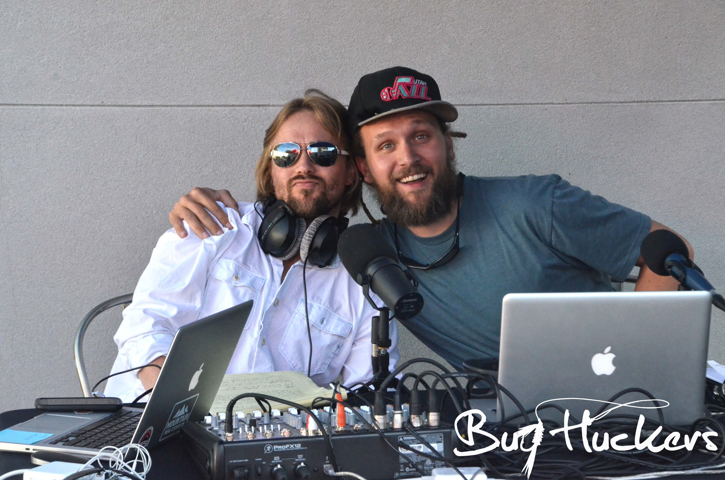 Bug Huckers Hosts London and Danny feeling the love before rippin' their teaser episode.