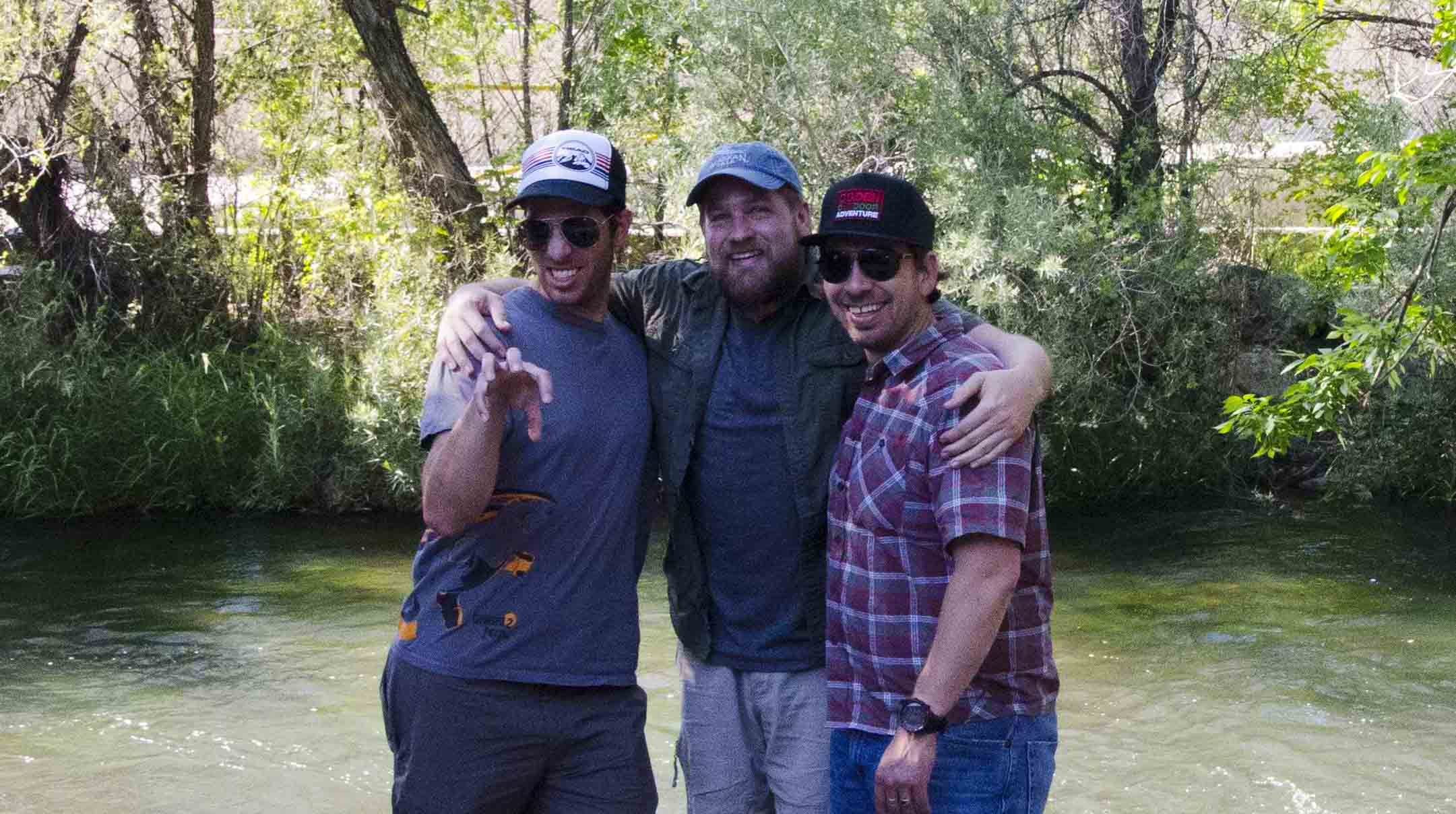 Gear Junkie James, Todd to the Top, and R. Brandon Long of the OOA Show