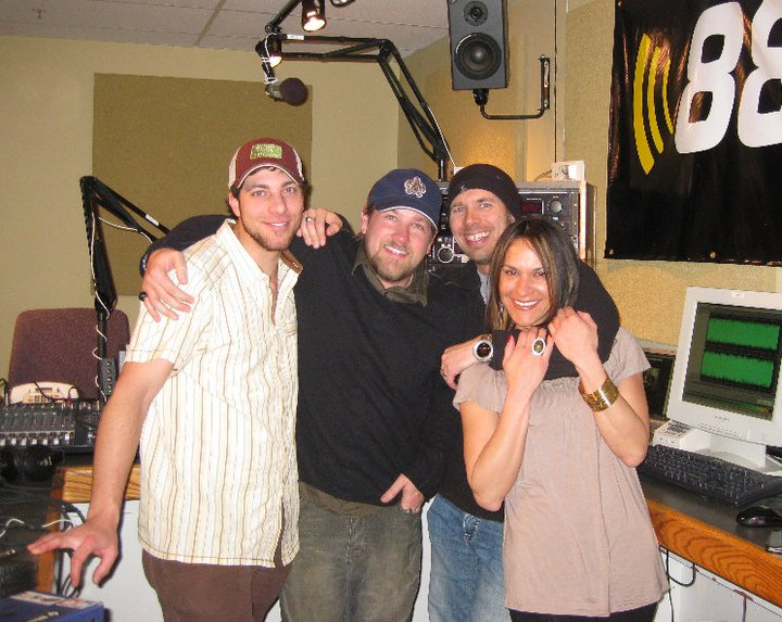 2011 OOA Show Hosts - Gear Junky James, Todd to the Top, Host Brandon, and Trippy Tressa