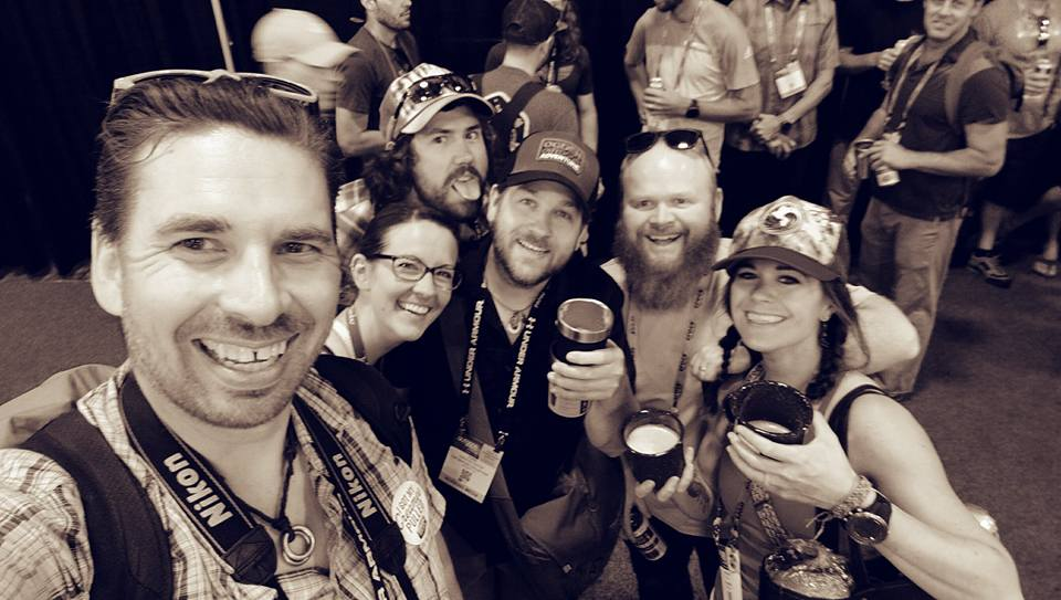 OOA friends during Outdoor Retailer Happy Hour!