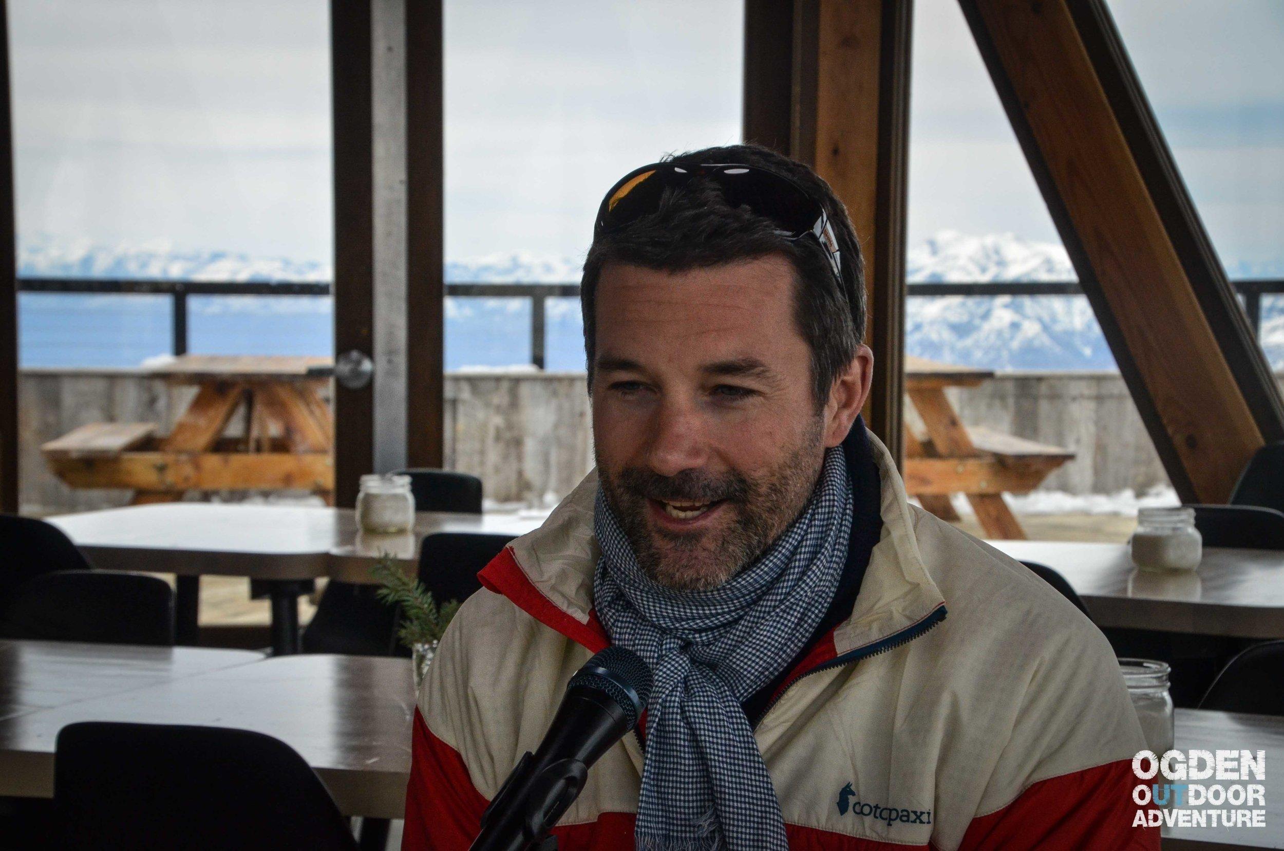 Daniel Fox at Summit Powder Mountain Skylodge
