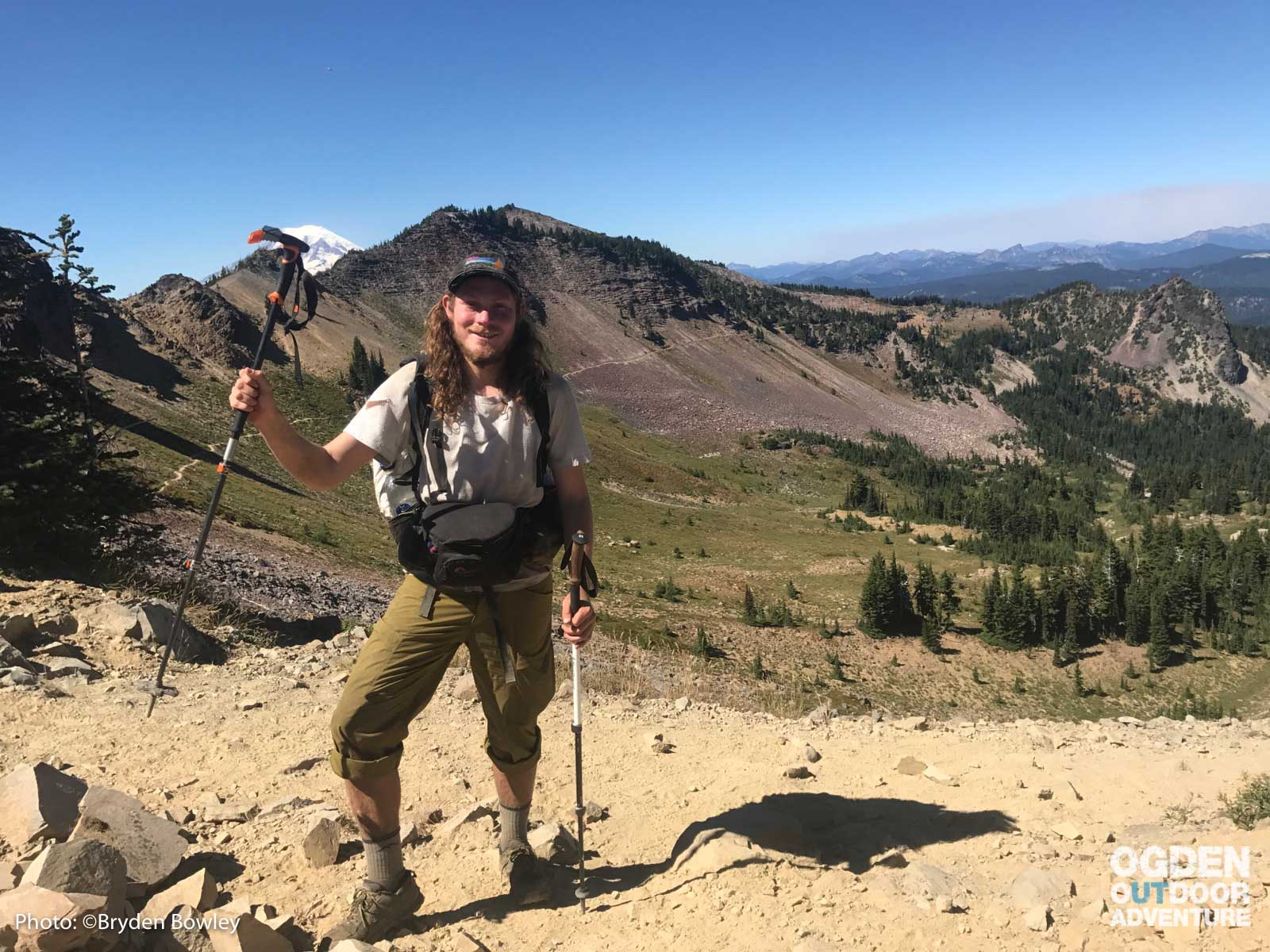 Bryden Bowley on the Pacific Crest Trail