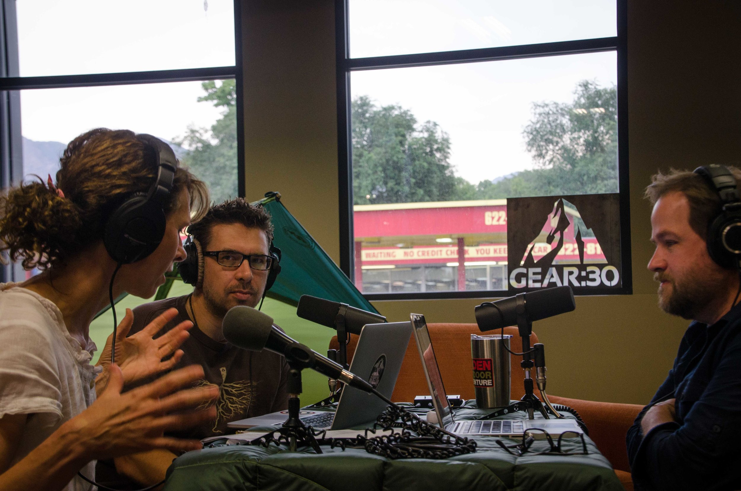 Podcasting with Brandi Bosworth from the Ogden Nature Center.
