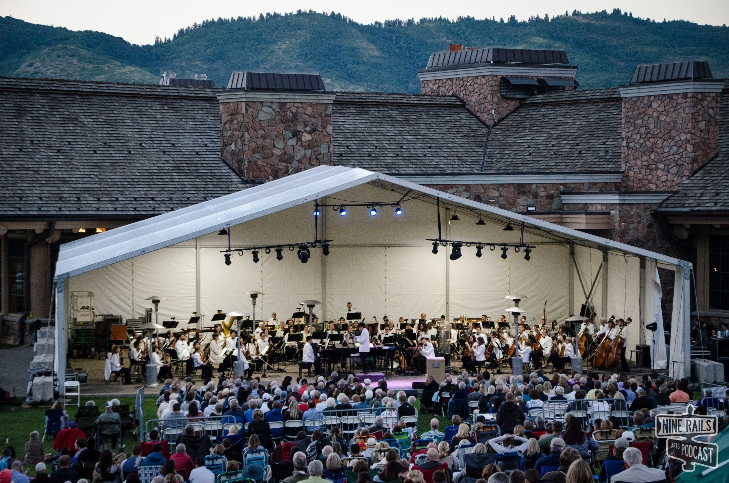 Ogden Symphony Ballet Association's Frank Sinatra and Ella Fitzgerald concert under the stars at Snowbasin Resort