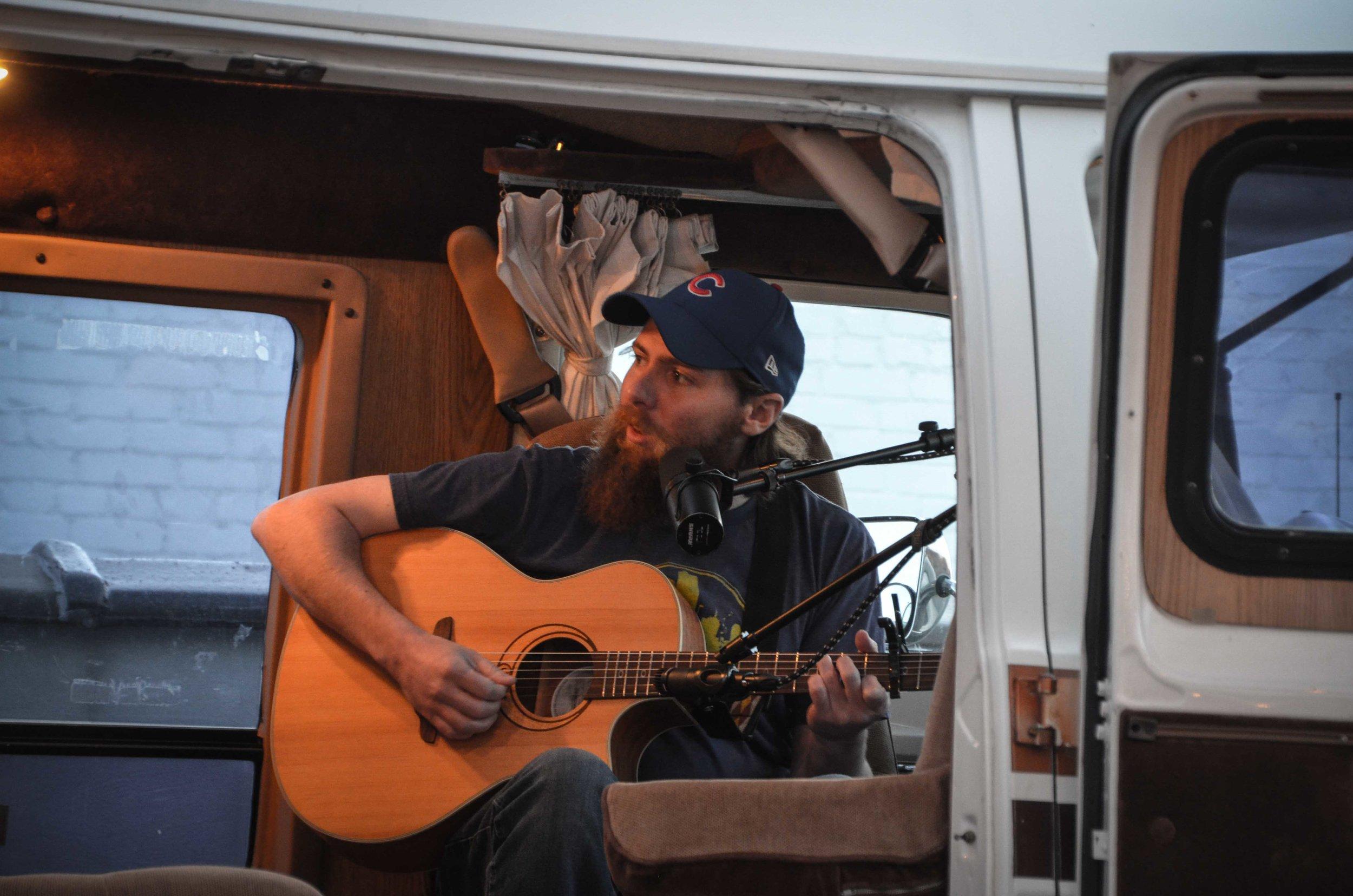 Paddy Teglia on Van Sessions