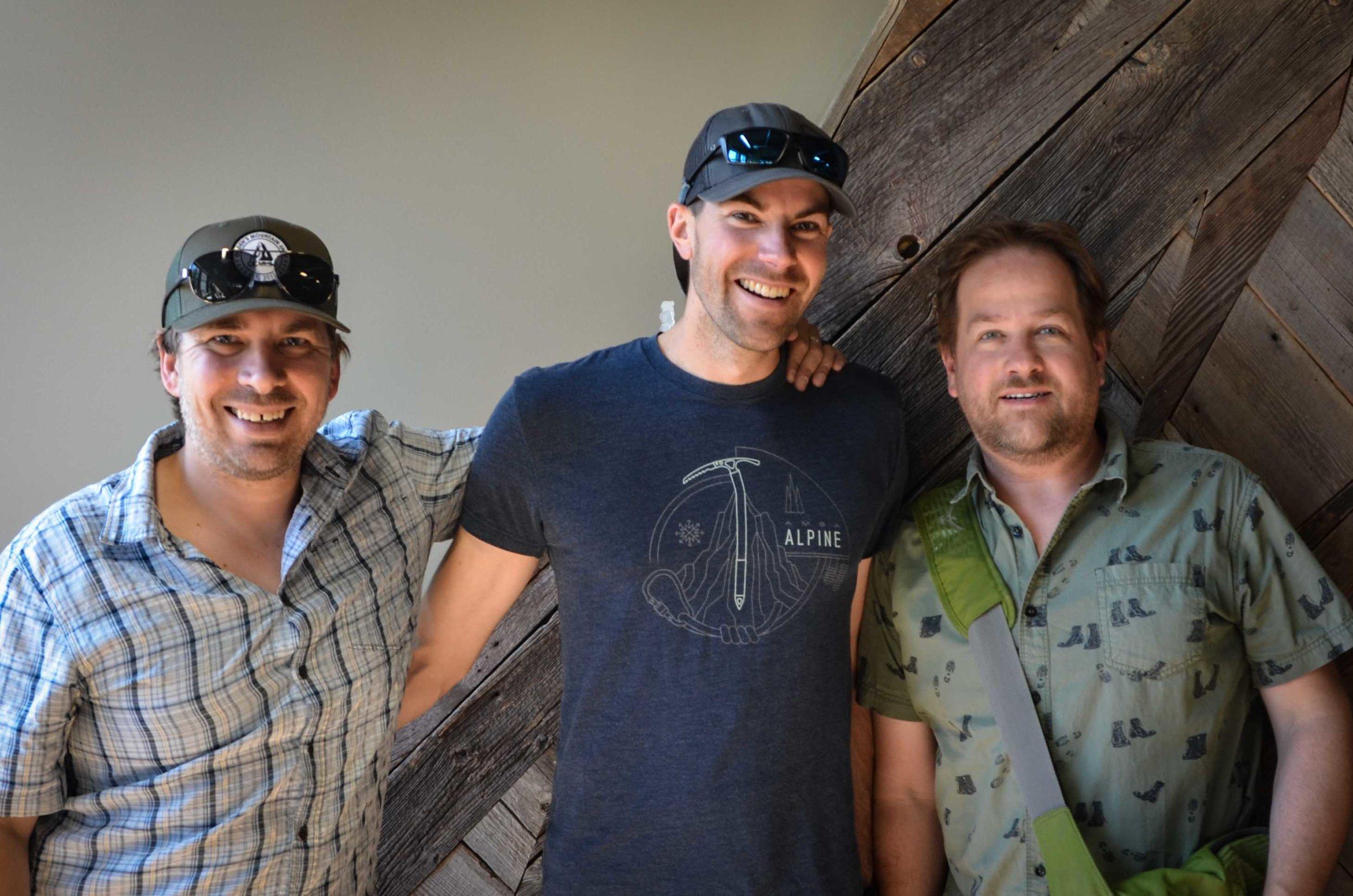 Left to right: R. Brandon Long, Derek DeBruin, Todd Oberndorfer