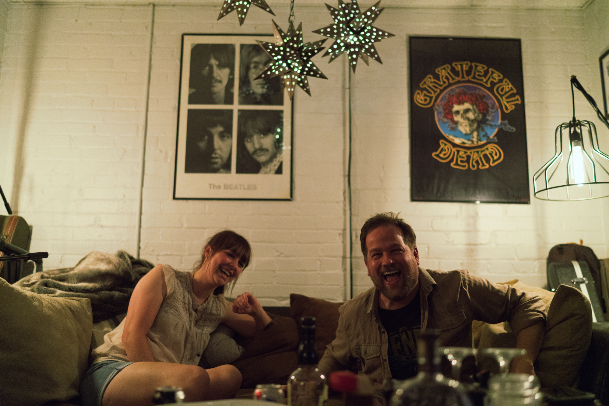 Carrie Myers & Todd Oberndorfer. Image by Cam McLeod.