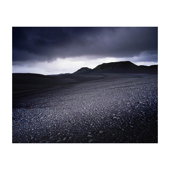 One of the many black deserts of the central highlands of Iceland. Black can come in many shades and hues, as I discovered.