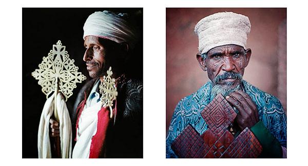 Portraits of Deakons, Orthodox Christian Lalibela, Ethiopia, © Bruce Percy 2010
