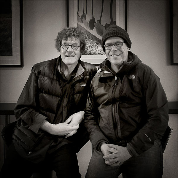 Michael Kenna & Me, March 2015. It was a lot of fun MK - thanks for the visit !