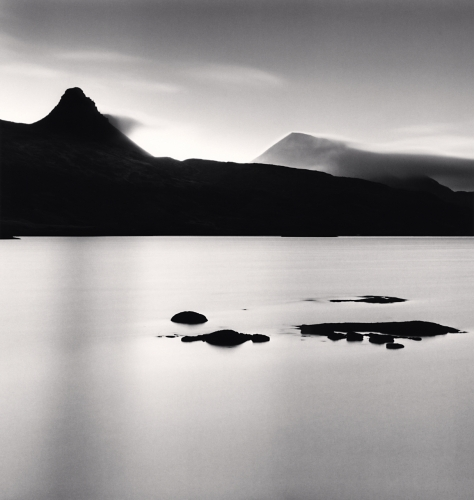 Stac Pollaidh and Cul Mhor, Loch Bad a Ghaill, Inverpolly, Scotland. 2015. Image © Michael Kenna 2015