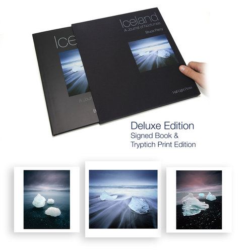 Deluxe edition comes with 3 prints that can be framed as a tryptych.