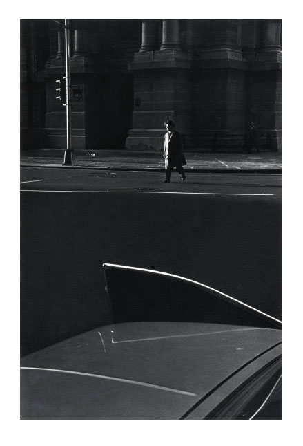 Image © Ray Metzker. I've never been so captivated by a car door before.