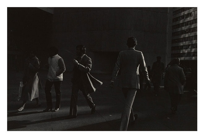 Image © Ray Metzker. When has the coat tails of a jacket appeared to be so beautiful to the eye?