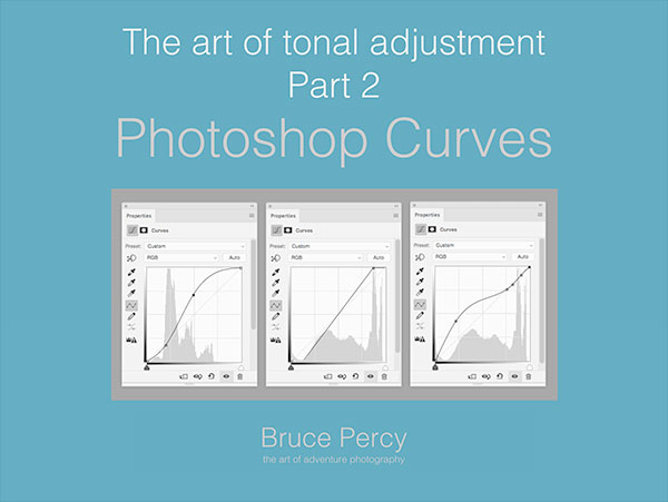 Forthcoming e-book about Photoshop's Curves tool. The Curves tool is, in my view, the most powerful tool for tonal adjustment available.