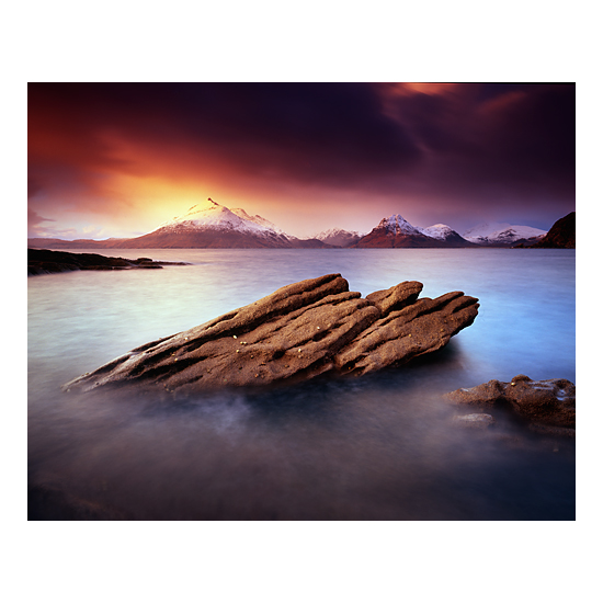 An old image of mine, of Elgol, on the Isle of Skye. Visiting well known locations can teach us a lot and even copying well known compositions can aid in the teaching also. I think that for me, I'm really keen to see if I can transcend the well known view, to try to find my own style or vision. To make the scene 'my own'.