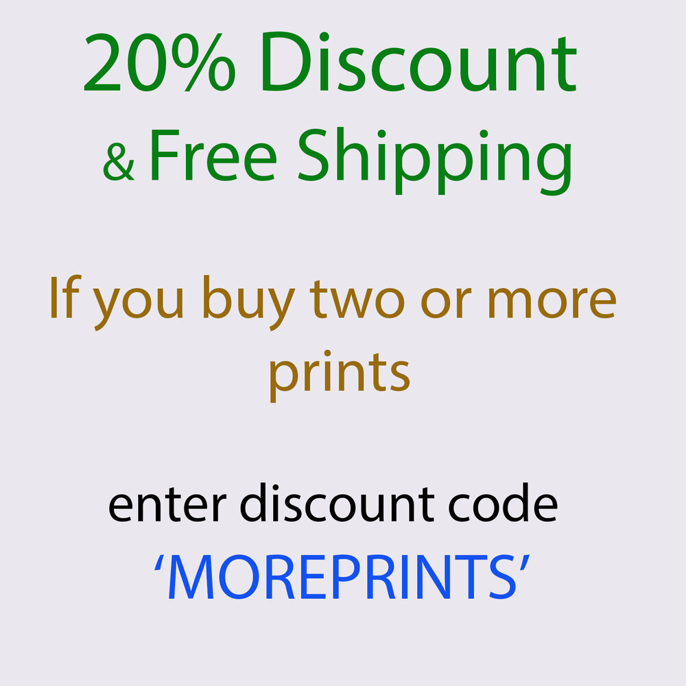 Limited offer : Sound of Snow Proof Prints